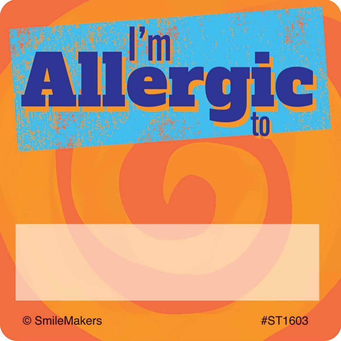 I'm Allergic Stickers [image]
