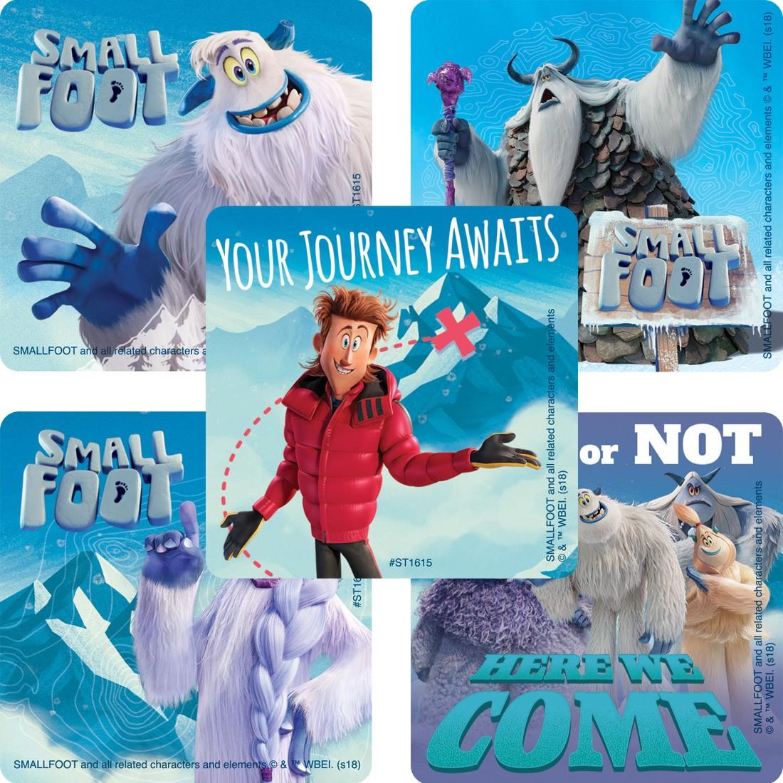 Smallfoot Movie Stickers [image]