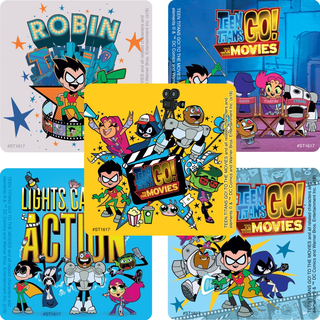 Teen Titans GO! To the Movies Stickers [image]