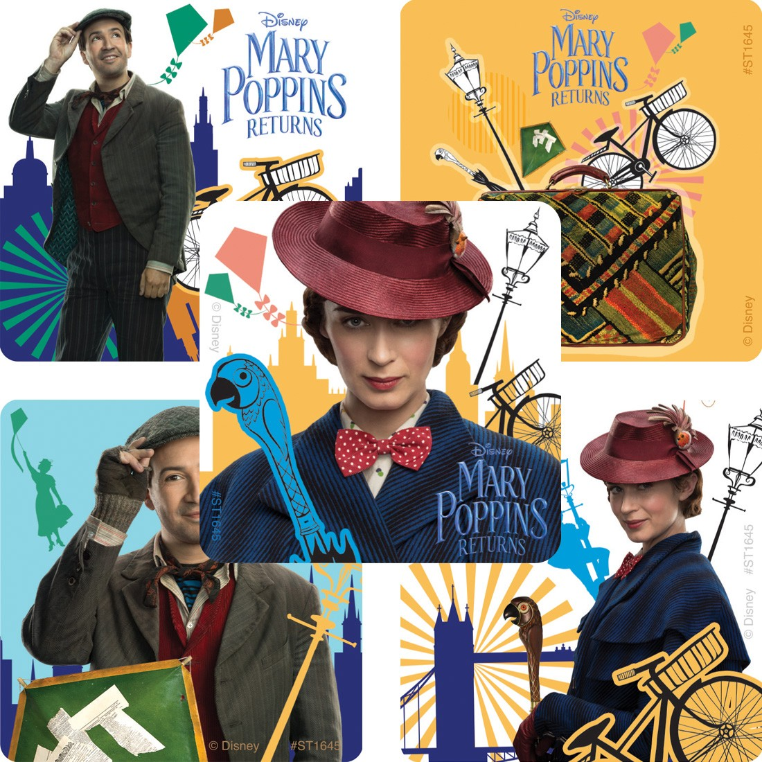 Mary Poppins Returns Stickers  [image]