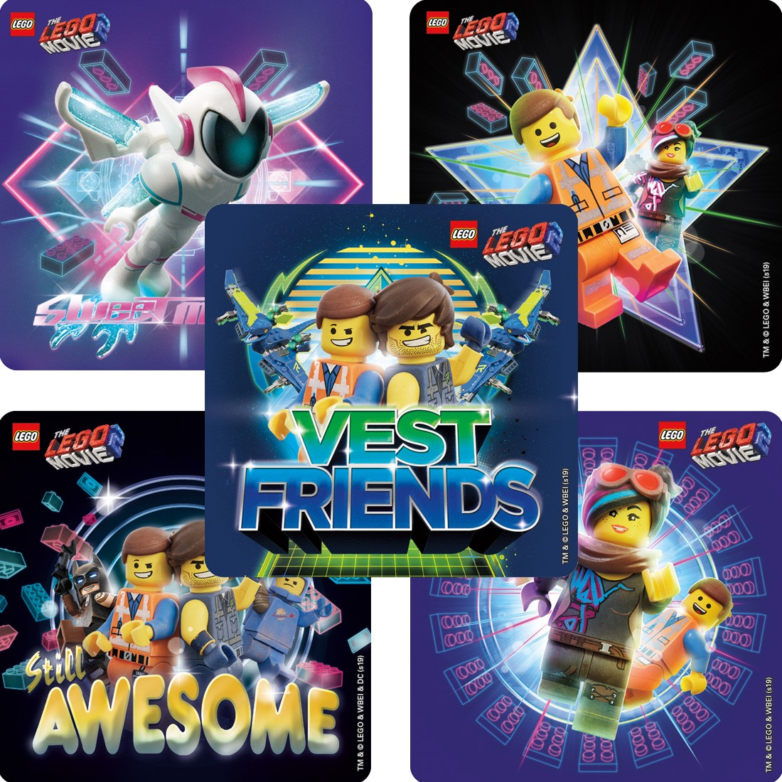 The LEGO Movie 2: The Second Part Stickers   [image]