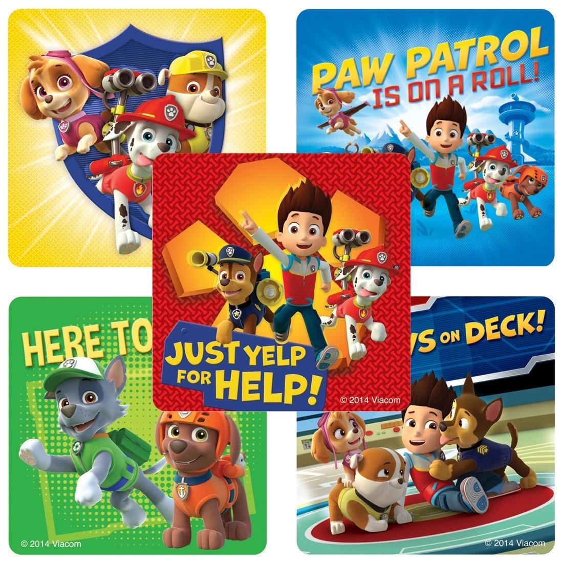 PAW Patrol Stickers                                [image]