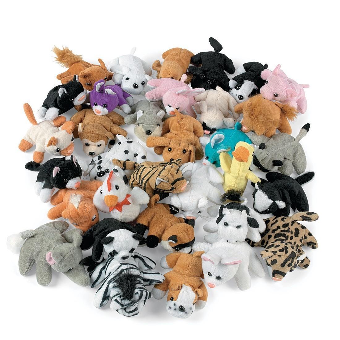 Assorted Plush Animals [image]