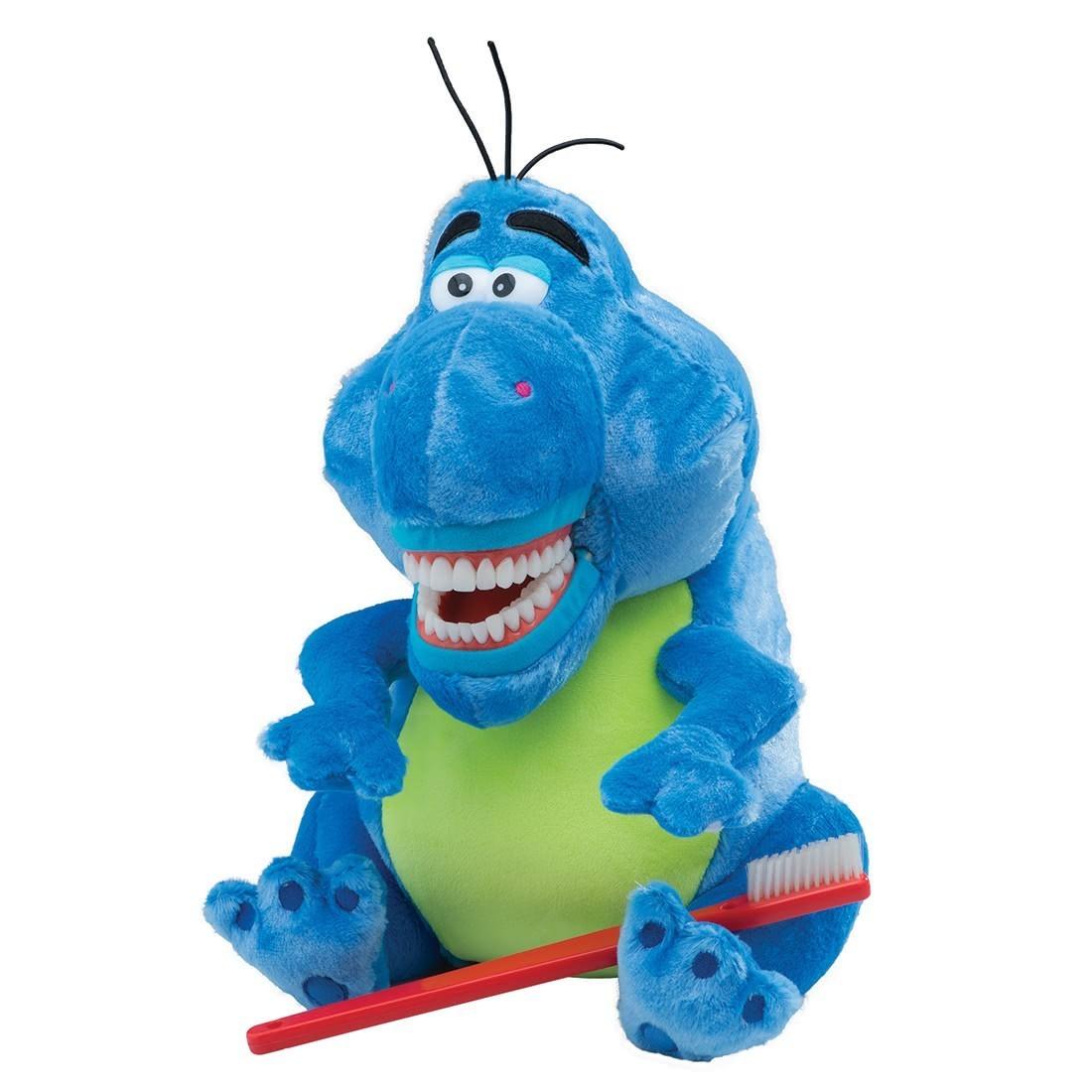 SmileMakers® Rex the Dinosaur Dental Puppet [image]