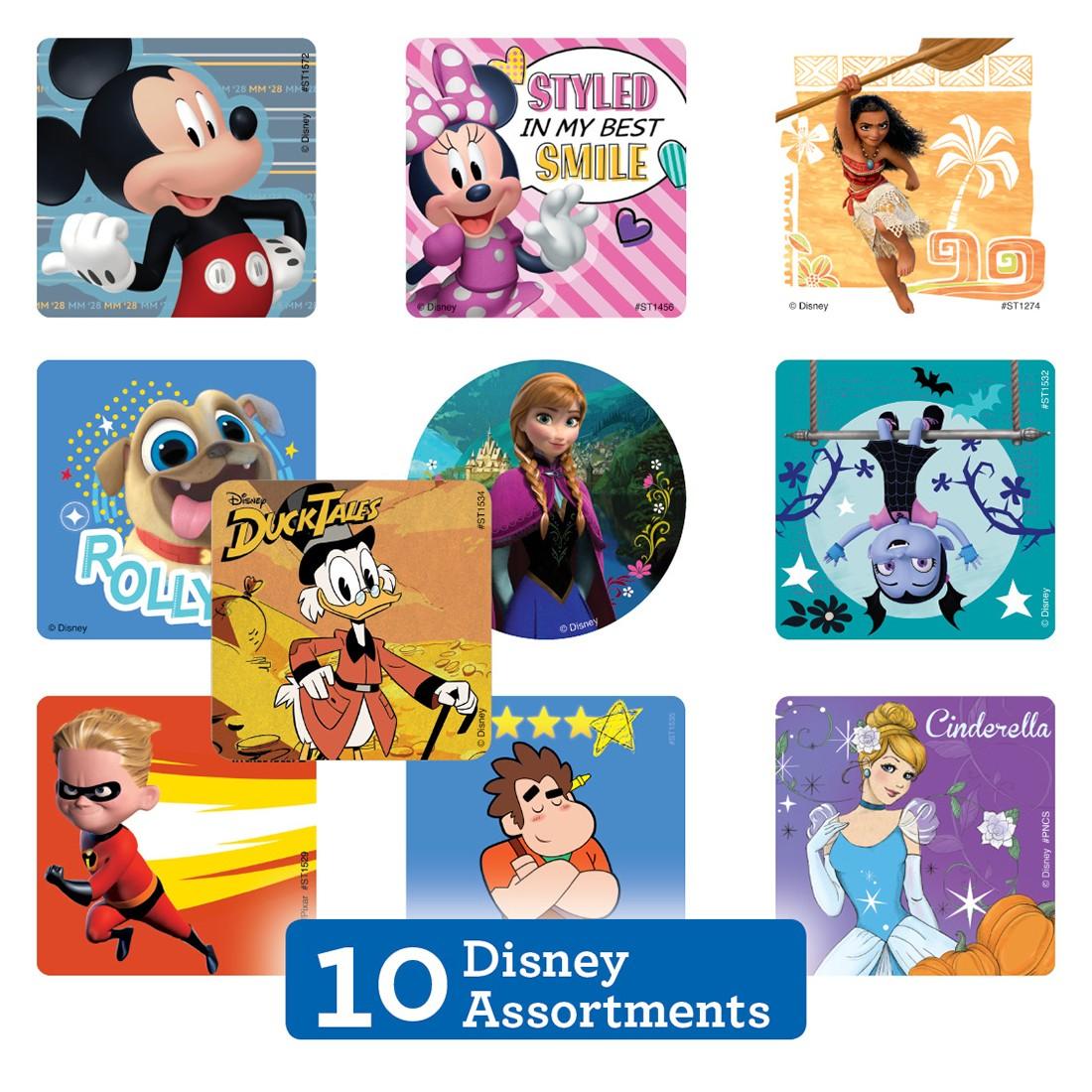 Disney Sticker Sampler [image]