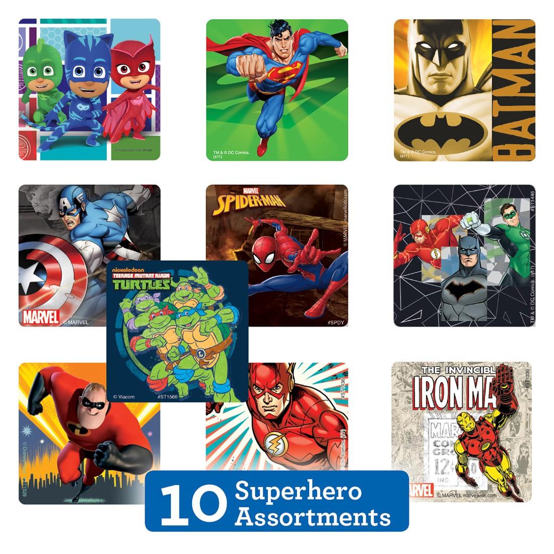 Superhero Sticker Sampler [image]