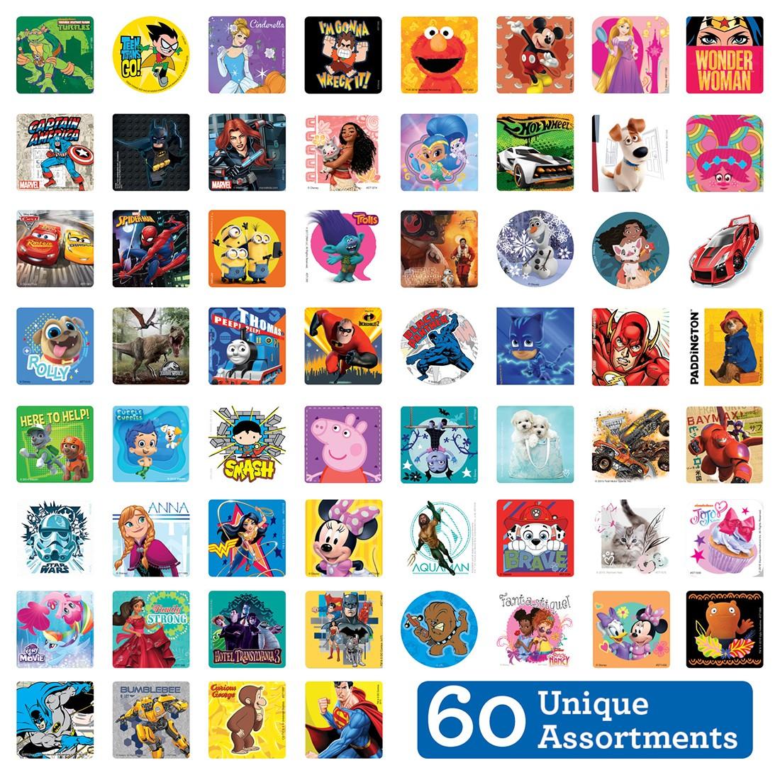 SmileMakers MEGA Sticker Sampler [image]