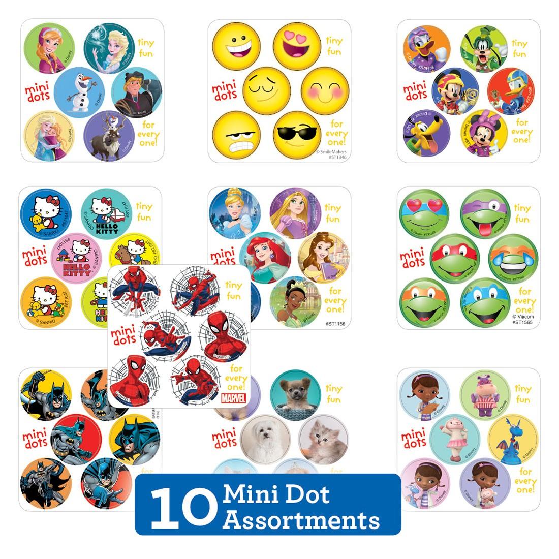 Mini Dot Sticker Sampler [image]