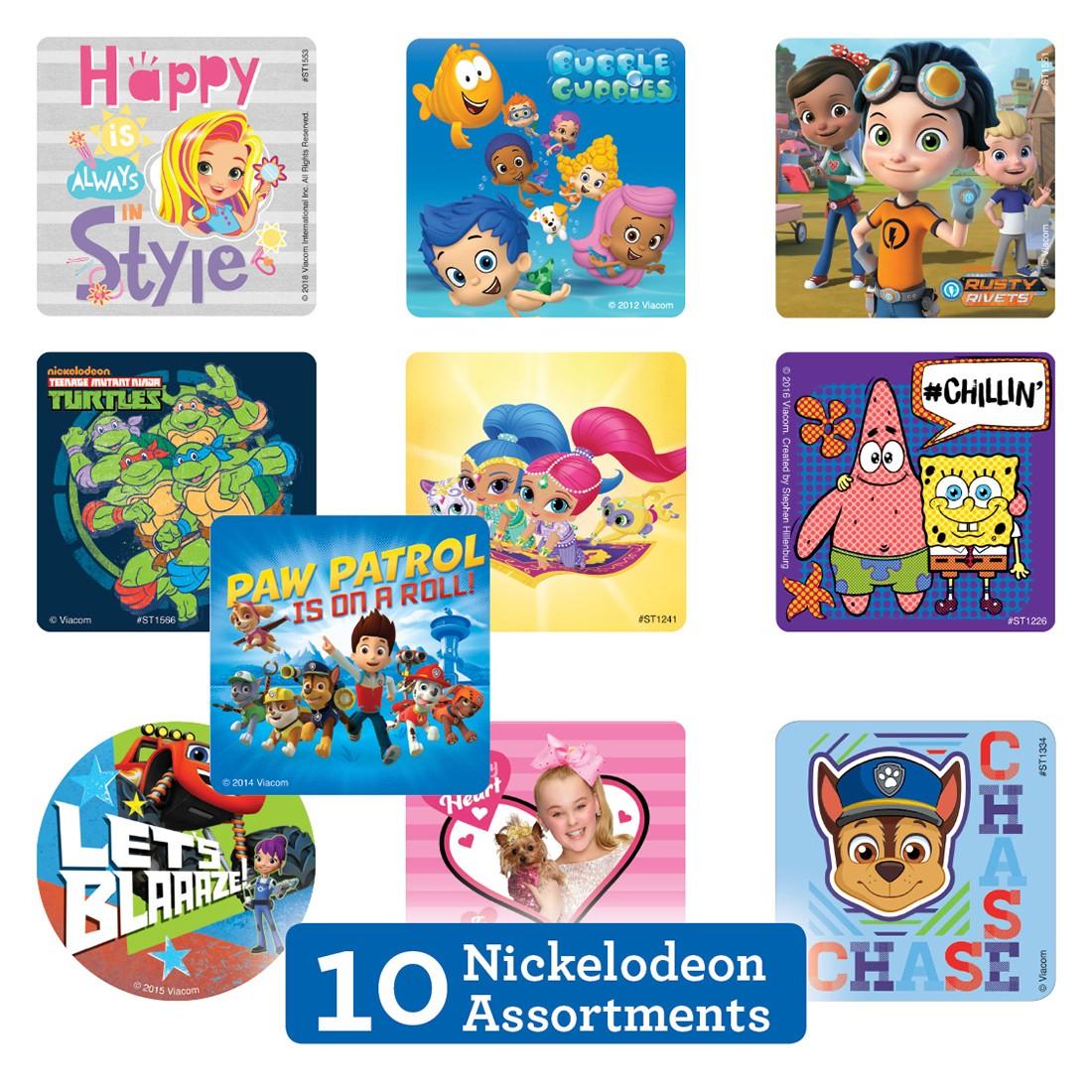 Nickelodeon Sticker Sampler [image]