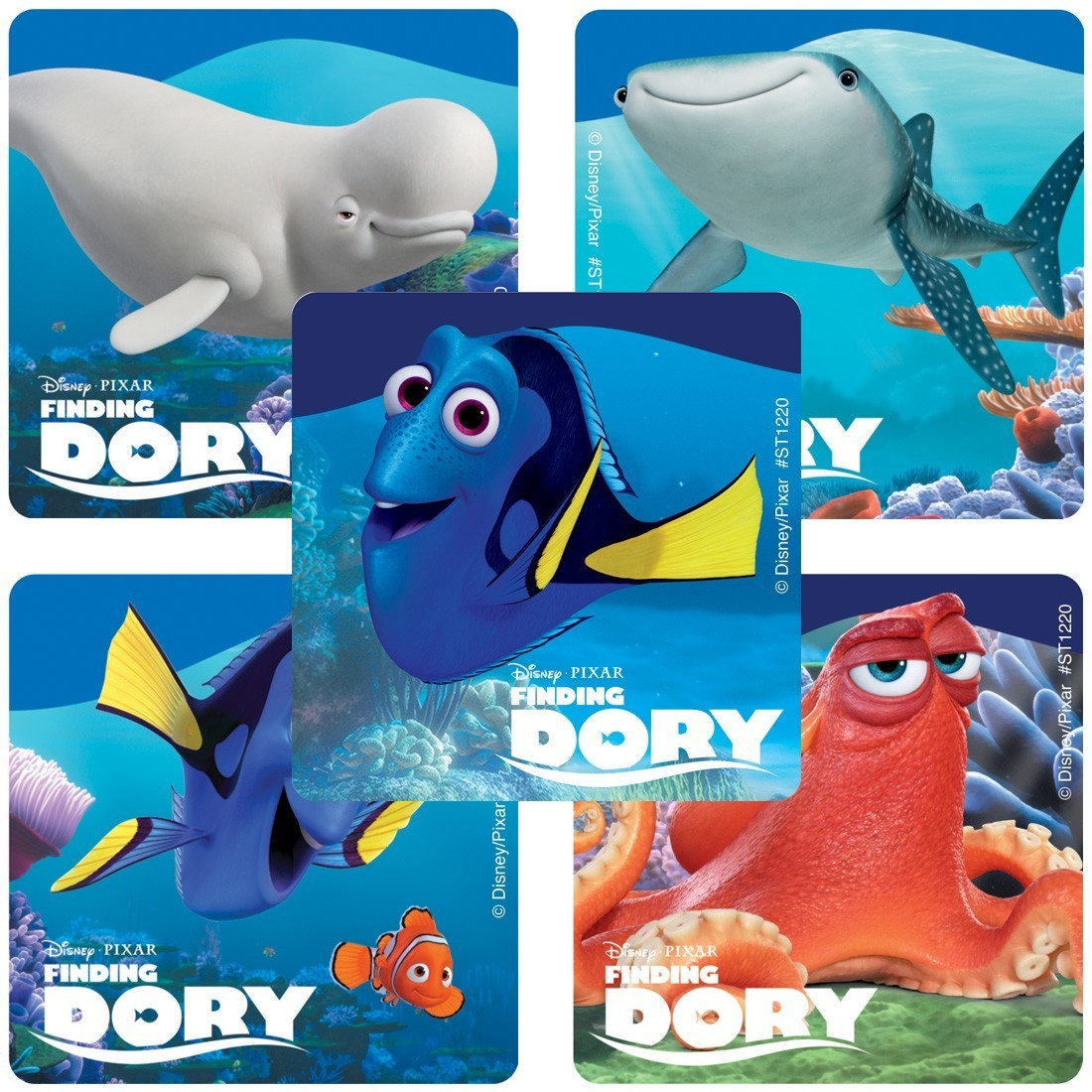 Finding Dory Character Stickers  [image]