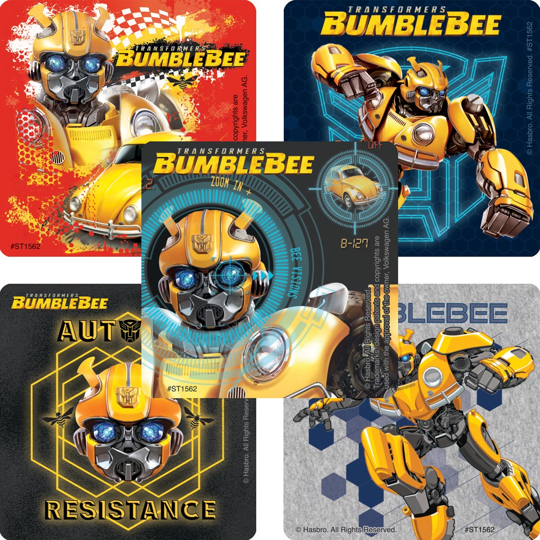 100 TRANSFORMERS BUMBLEBEE MOVIE  [image]