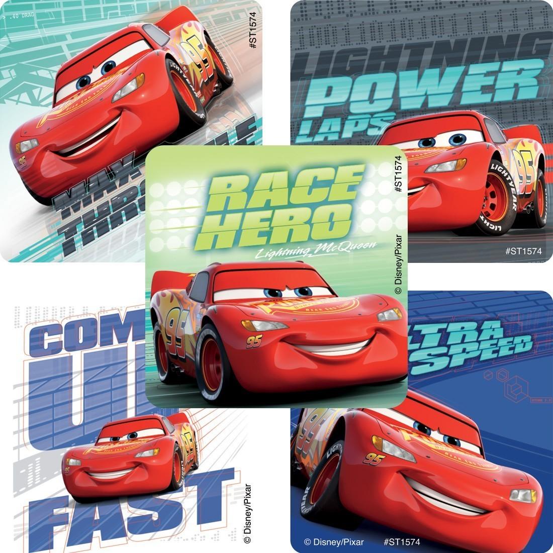 Disney*Pixar Cars Lightning McQueen Favorites Stickers [image]