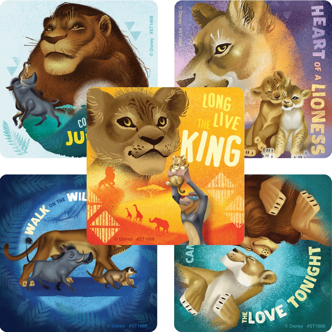 The Lion King: Wild Side Stickers [image]