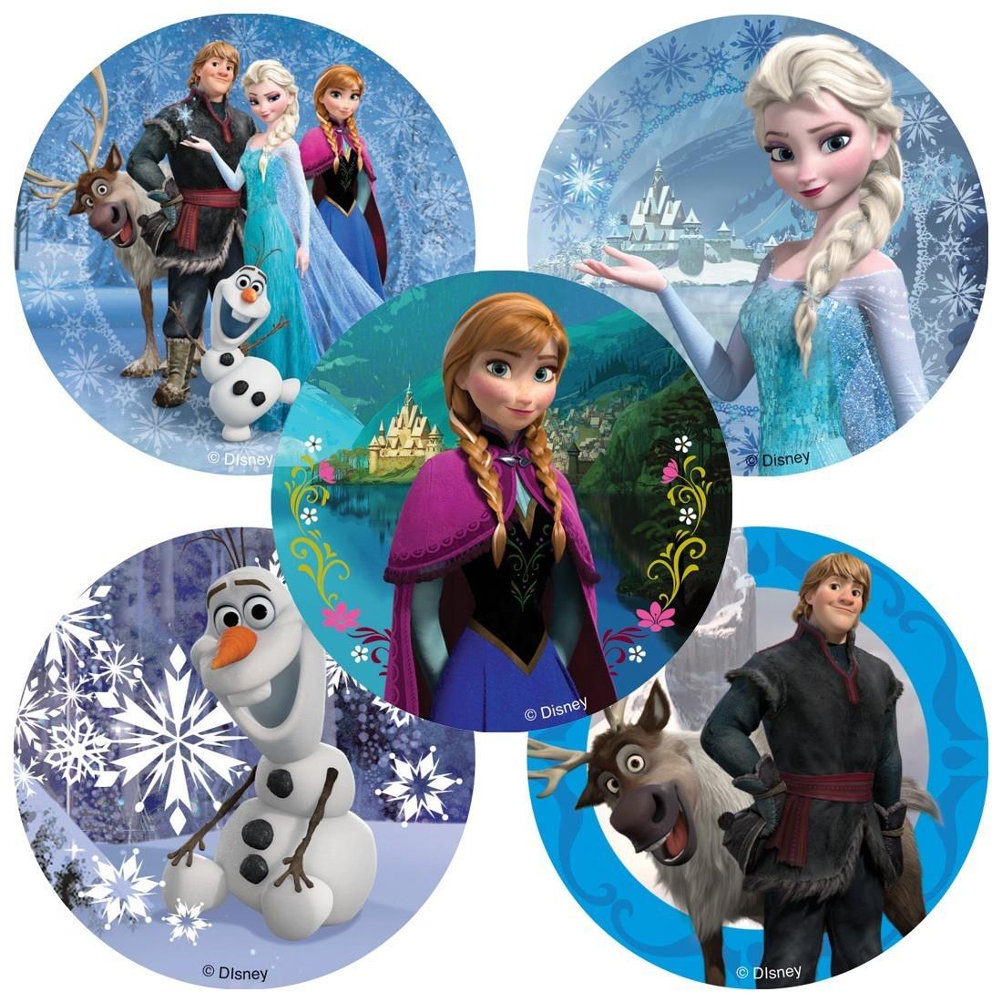 Disney Frozen Movie Stickers [image]
