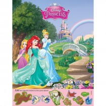 Disney Princess Sticker Activity Sheets