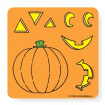 Make-Your-Own&153; Jack-O-Lantern Stickers