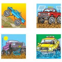 Monster Trucks Stickers