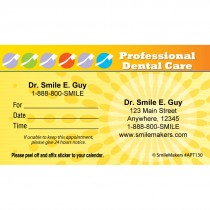 Custom Professional Care Appointment Cards