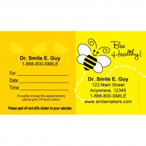 Custom Bee Healthy Appointment Cards