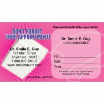 Custom Floss Don't Forget Appointment Cards