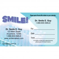 Custom Smile Appointment Cards