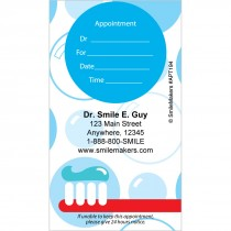 Custom Brush & Bubbles Appointment Cards