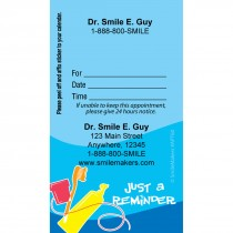 Custom Tooth Tools Appointment Cards