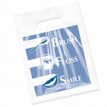 Clear Brush, Floss, Smile Bags