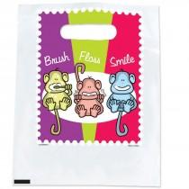 Brush, Floss, Smile Monkeys Spotlight Bags