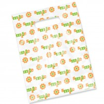 Scatter Print Smile Flower Bags