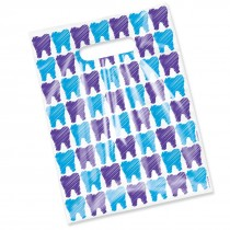 Scatter Print Tooth Sketch Bags