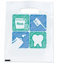 Tooth, Brush, Floss, Paste Bags