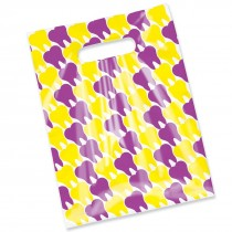 Scatter Purple and Yellow Teeth Bags
