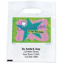 Custom Congratulations New Smile Bags