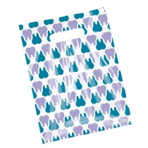 Purple & Teal Scatter Tooth Bags