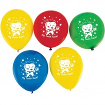 My Teeth Rock Latex Balloons