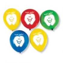 Super Smile Latex Balloons