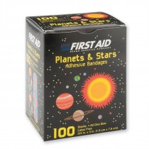 First Aid Case Planet and Stars Bandages