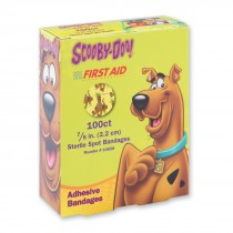 First Aid Scooby Doo Spot Bandages - Case