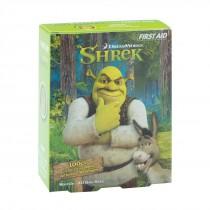 First Aid Shrek Spot Bandages - Case