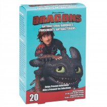 DreamWorks Dragons Antibacterial Bandages