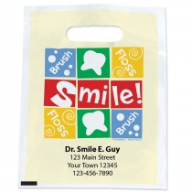 Custom Brush, Floss, Smile Bags