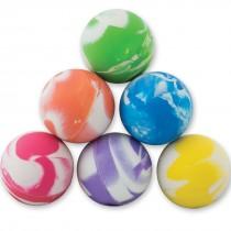28mm Cloudy Swirls Bouncing Balls