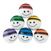 30mm Smiley Beanie Bouncing Balls