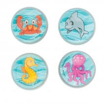 30mm Sea Life Pals Bouncing Balls