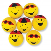 Goofy Smiley Face Stress Balls