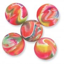 32mm Neon Marble Bouncing Balls