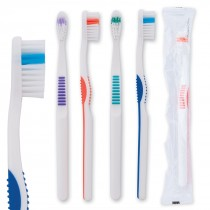 OraLine Premium Adult Compact Head Toothbrushes