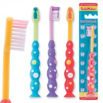SmileCare Toddler Bubble Grip Toothbrushes
