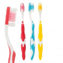 SmileCare™ Adult Wave Grip Toothbrushes